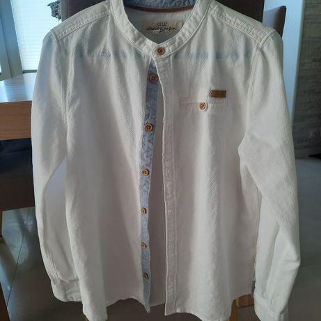 Koszula biała dla chłopca H&M