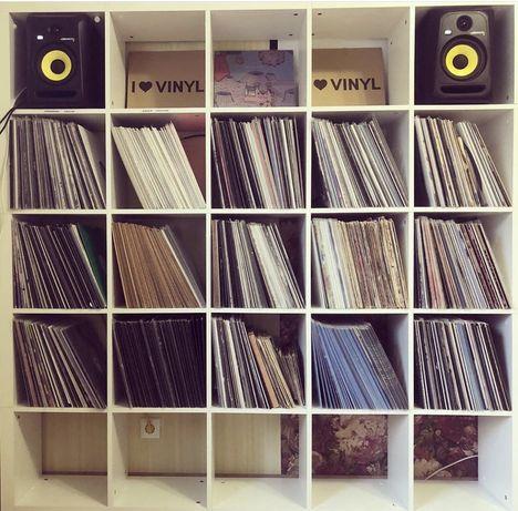Коллекция виниловых DJ пластинок. Vinyl. Records. Minimal. Tech. Deep.
