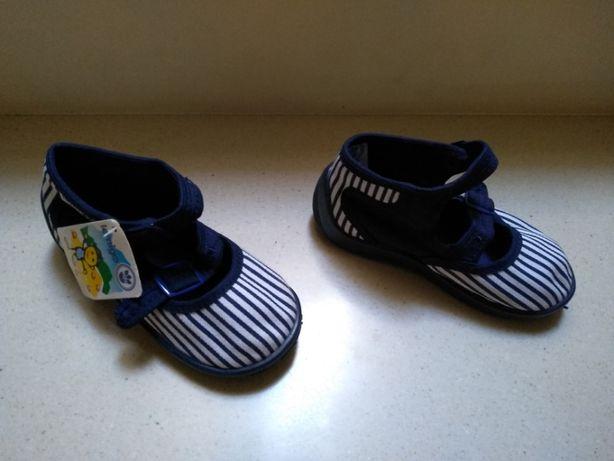 Trampki pantofle Limango dziewczęce r. 25