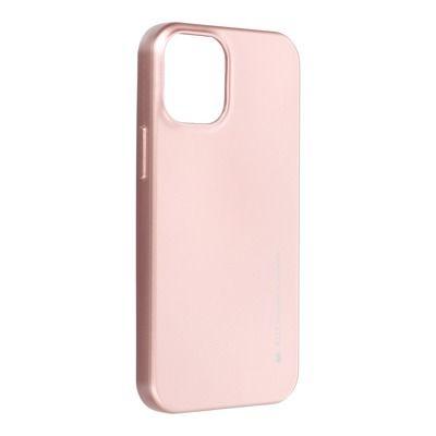 Capa Silicone Mercury Iphone 12 Mini - Rosa Dourado
