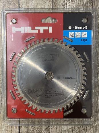 Диск Hilti 165-20 z48 HW (48 зубьев)