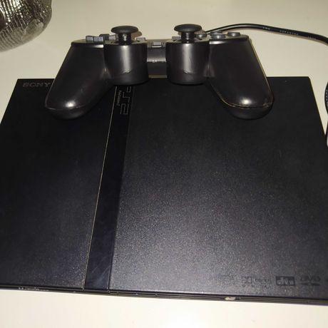 PlayStation 2 SLIM c/comando