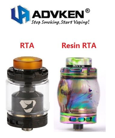 Обслуживаемый Бак Advken MANTA RTA 5ml / MANTA Resin RTA 24 mm Манта