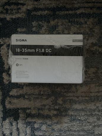 Obiektyw Sigma 18-35mm F1.8 Dc