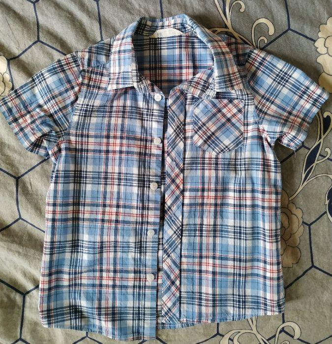 2 koszule dla chłopca rozmiar 110 -komplet 10 zł Bydgoszcz - image 1
