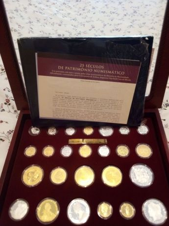 25 Séculos de Património Numismático (moedas)