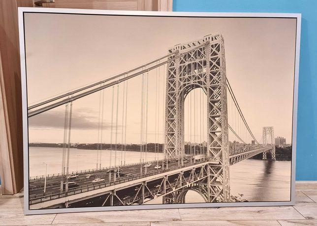 Obraz 140x100cm most Waszyngtona USA George Washington