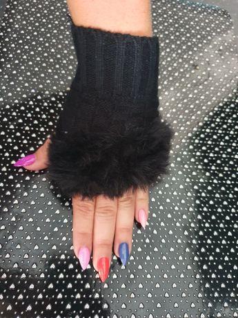 Rękawiczki z futerkiem NOWOŚĆ