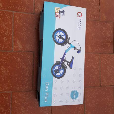 Nowy rowerek biegowy lionelo