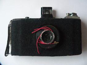 Máquina fotografia pinhole
