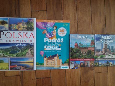 zestaw książek Polka i Europa