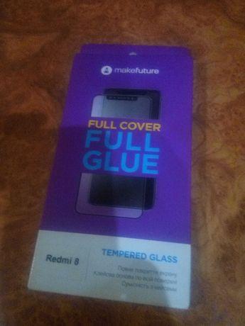 Стекло защитное MakeFuture Full Cover Full Glue на Xiaomi Redmi 8(8А)