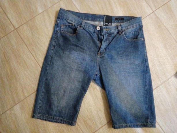 Krótkie spodenki jeansy HOUSE 31