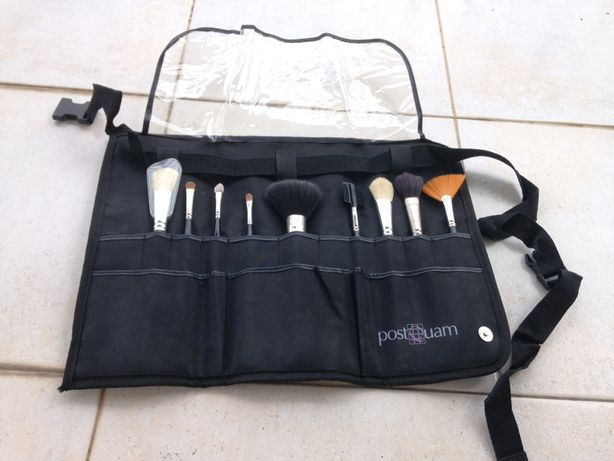 Conj. 9 pincéis de maquilhagem profissionais