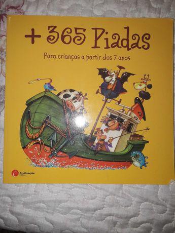 Livro + 365 Piadas
