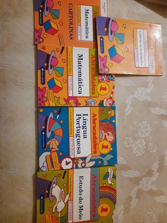 """Livros """"Abracadabra"""" 1ano"""