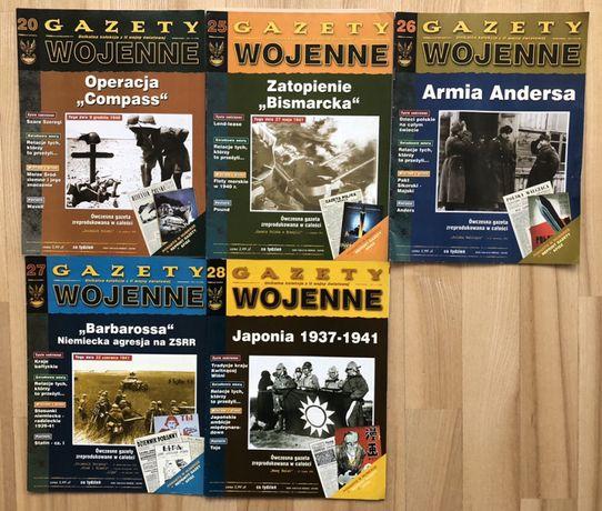 Gazety Wojenne | 5 numerów