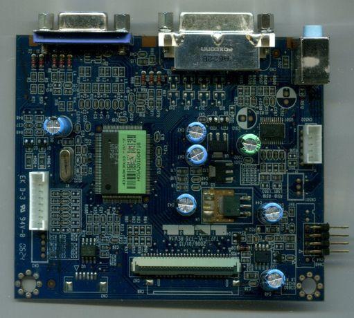 Monitor HannStar HU196 para peças