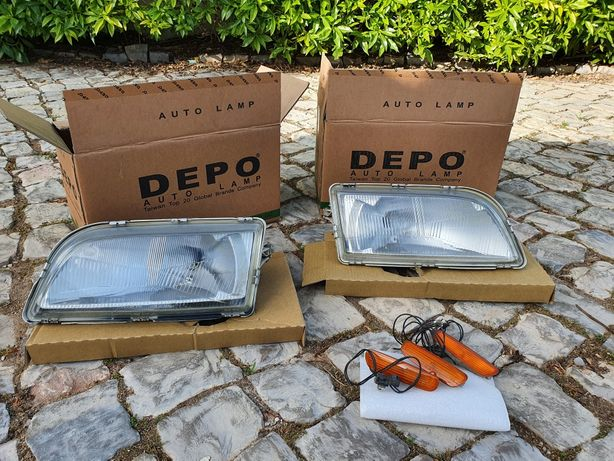 Faróis ópticas e luzes lateral Volvo V40/S40 1995>00 usados
