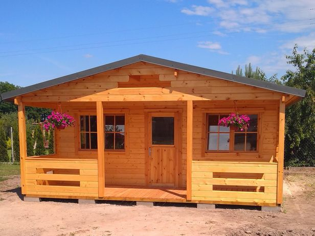 Domek z balika , dom z drewna , domek letniskowy wolny termin na 2021