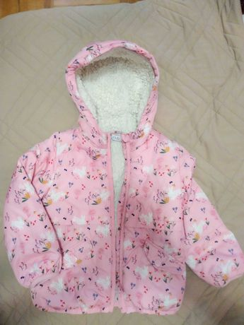 Куртка демисезонная mini club 3-4 года, 104  размер для девочки