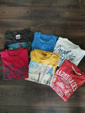 Koszulki męskie rozmiar M i L