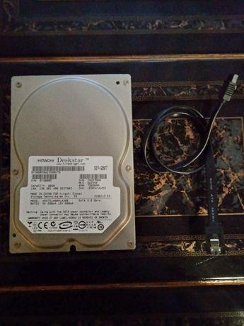 Обменяю жёсткий диск SATA 80Gb