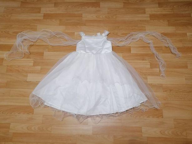 Нарядное платье для девочки(утренник ангел принцесса снежинка\свадьба)