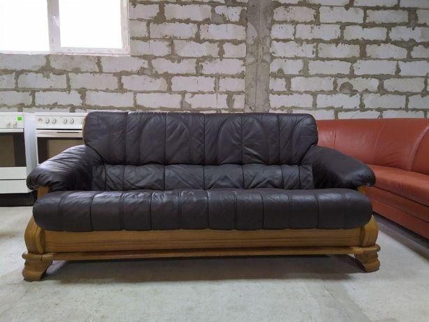 "Кожаный диван из Германии ""Formaggio"" (16051)"