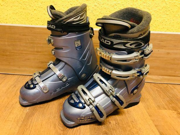 buty narciarskie HEAD - rozmiar 39 - wkładka 250-255