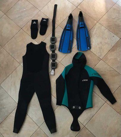 Fato de mergulho  aqua lung