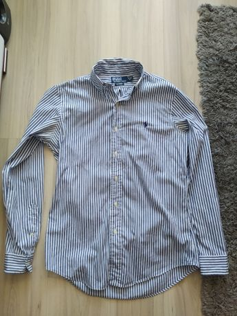 Koszula w paski POLO Ralph Lauren r. S jak M , 15-38 Custom Fit