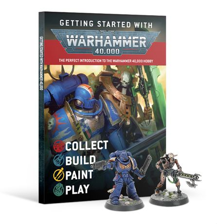 Zestaw startowy Getting started with Warhammer 40 000