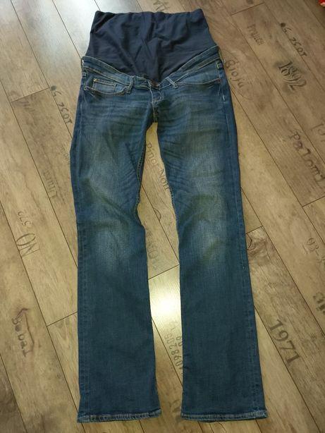 Spodnie ciążowe jeansy h&m MAMA rozmiar 38 40
