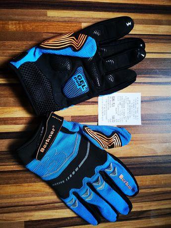 Rękawiczki rowerowe Berkner nowe nieużywane