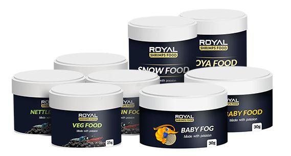 Pokarmy dla krewetek - Royal Shrimps Food