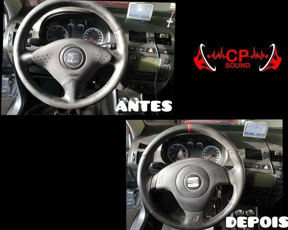 Adaptação e Montagem de volante de Seat ibiza 6l em Seat ibiza 6k2 6k3