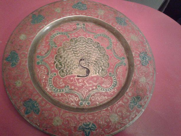 Тарелка индийская декоративная