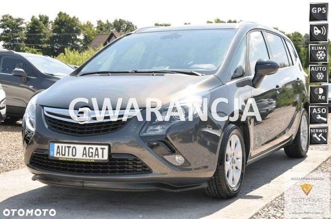 Opel Zafira cosmo*skóra*136ps*bluetooth*7os*xenon*led*parktronic*nawi*kamera