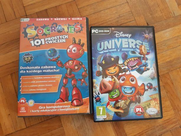 Gry komputerowe dla dzieci Socrates i Disney Universe