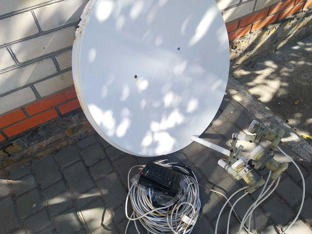Антенна спутниковая.