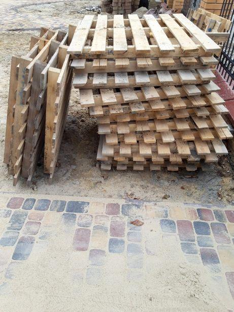 sprzedam palety drewniane 120cm x 100cm,. 21 szt.