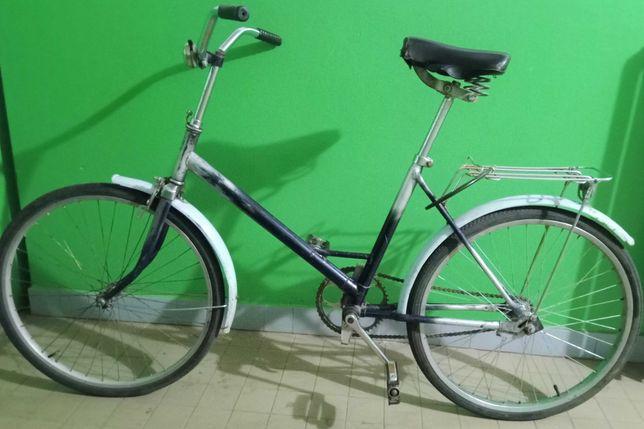 Велосипед Салют СССР в рабочем состоянии