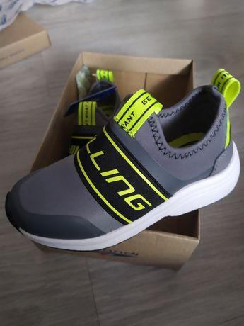 Adidasy chłopięce wsuwane 28  wkładka 17,5 cm