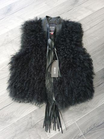 Nowa kamizelka damska futro z owcy M ochnik