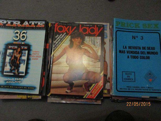 Revistas internacionais novas, eróticas