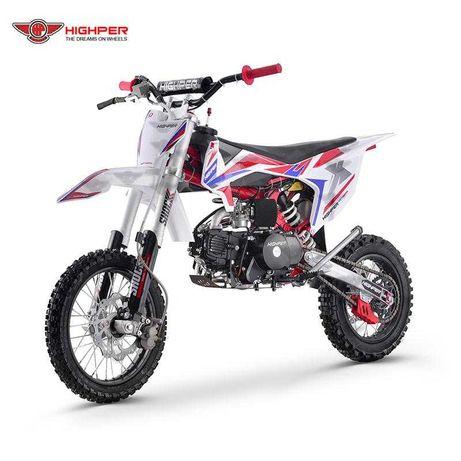 cross HIGHPER SHOCK 125 RR Sport ProMotor mocny 17/14 dostawa gratisy