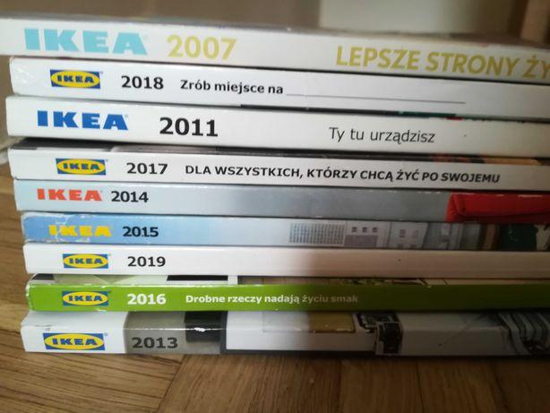 Katalogi IKEA 7 sztuk 2013 - 2019