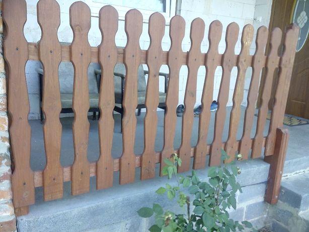 Sztachety do ogrodzenia sosnowe i modrzewiowe