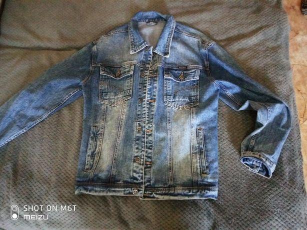 джинсовка мужская,купили но оказалась не поразмеру.